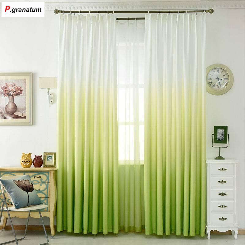 5 color window curtain living room modern home goods window