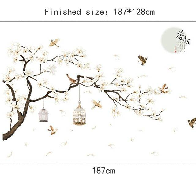 Big Size Tree Wall Stickers