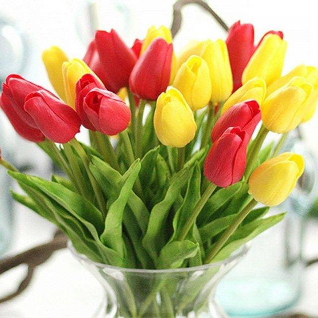 Tulips Artificial Flowers