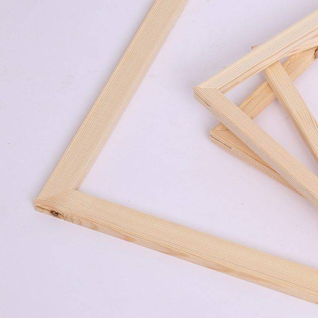 DIY Wooden Frame for Canvas Paintings